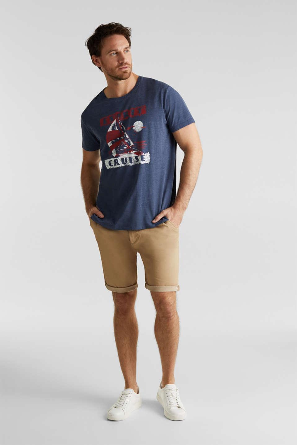 Printed jersey T-shirt, NAVY 5, detail image number 2