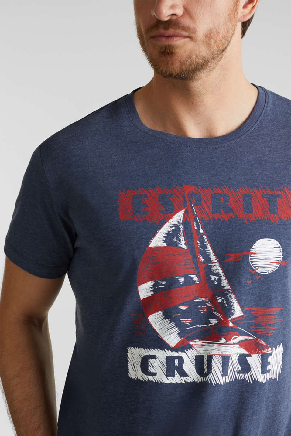 Printed jersey T-shirt, NAVY 5, detail image number 1