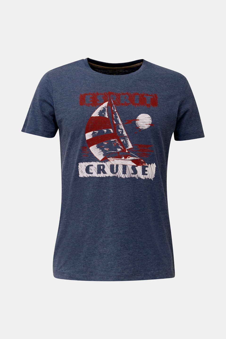 Printed jersey T-shirt, NAVY 5, detail image number 7