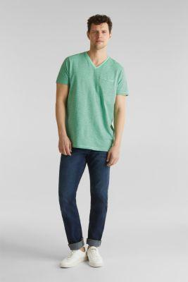 Jersey T-shirt in 100% cotton, LIGHT GREEN 3, detail