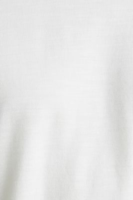 ARCHROMA piqué T-shirt, 100% organic cotton, OFF WHITE 2, detail