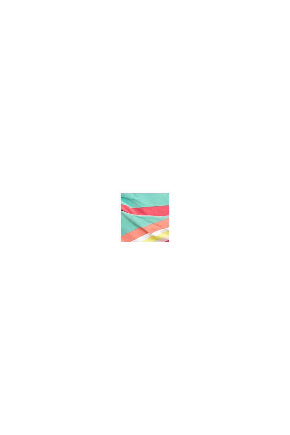 Top con righe multicolore, DUSTY GREEN, swatch