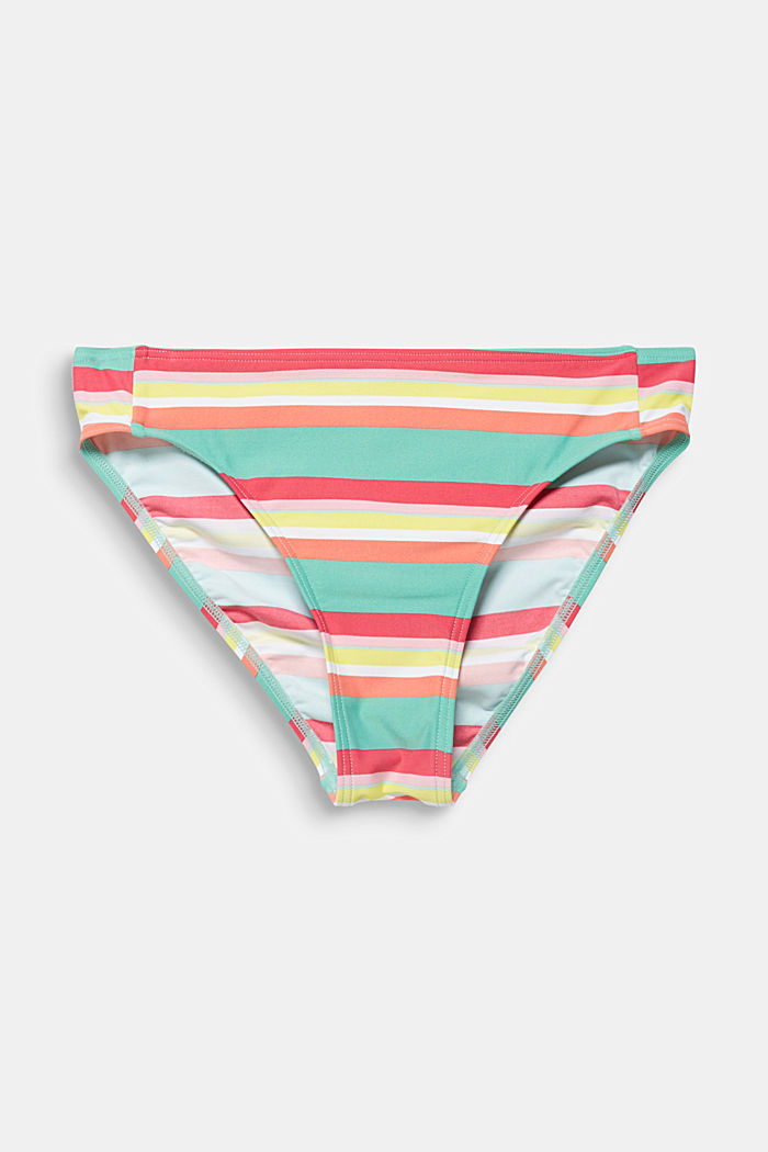 Midi briefs with stripes