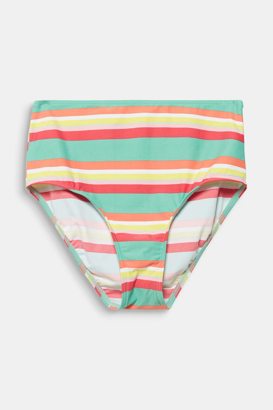 High-waisted briefs with stripes, DUSTY GREEN, detail image number 4