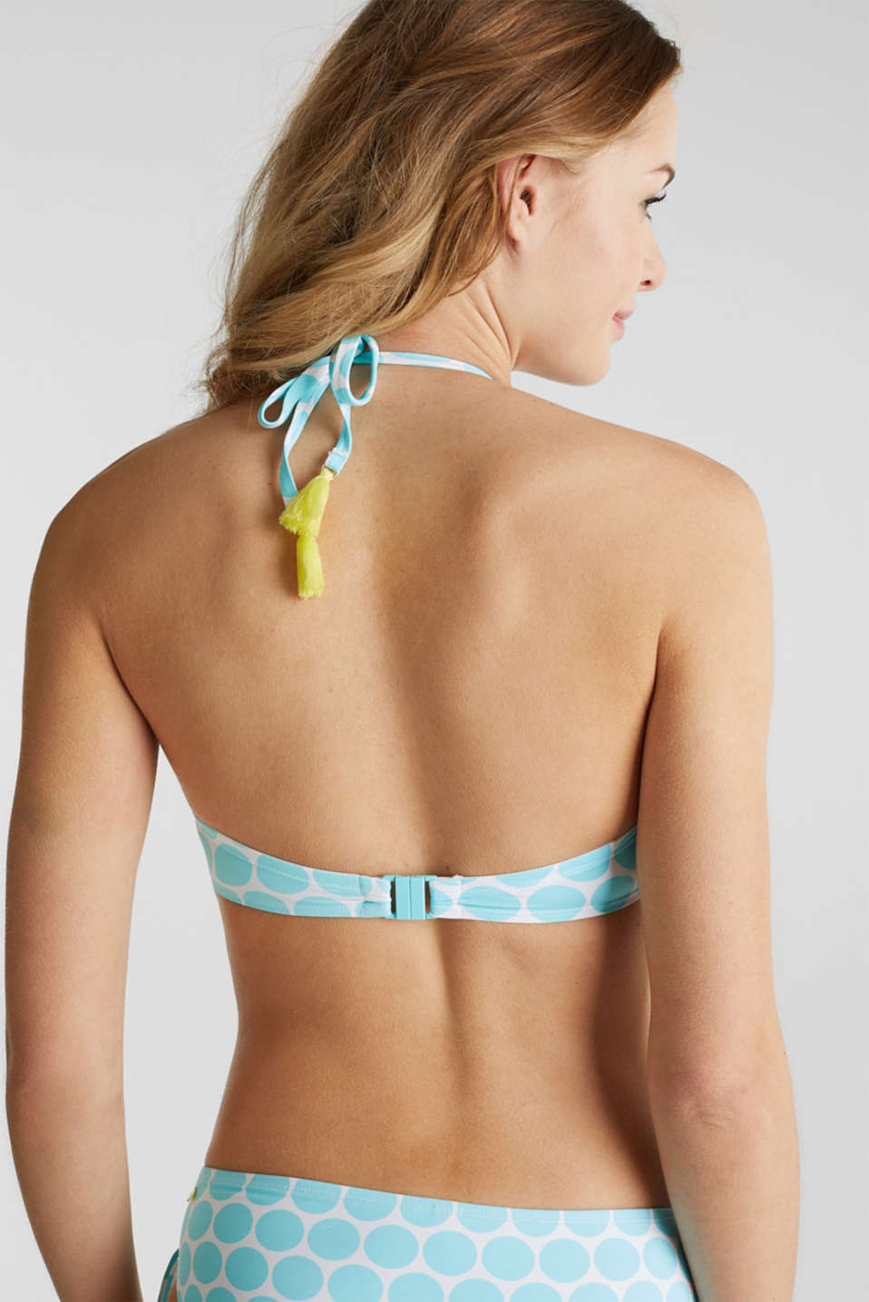 Top with detachable straps, LIGHT AQUA GREEN, detail image number 4