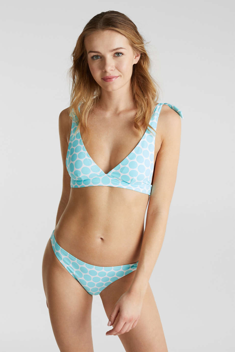 Briefs with side gathering, LIGHT AQUA GREEN, detail image number 1