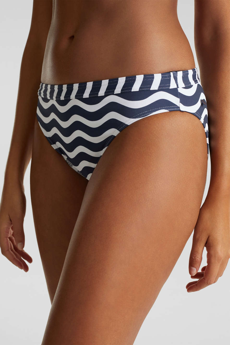 Midi briefs with a print, NAVY 2, detail image number 1