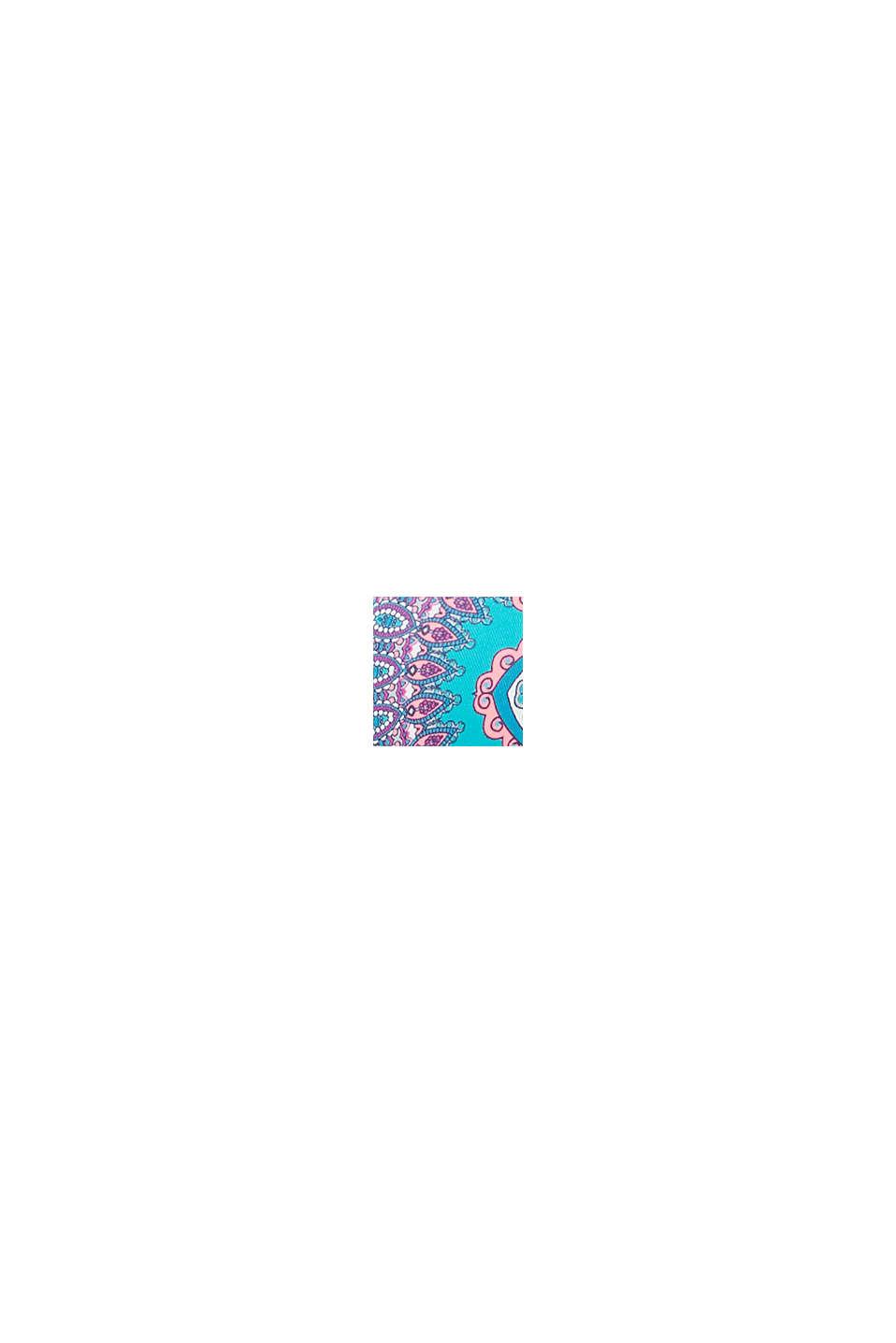Bøjle-top med paisleyprint, BLUE, swatch