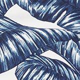 Mini-Slip mit Blätter-Print, NAVY, swatch