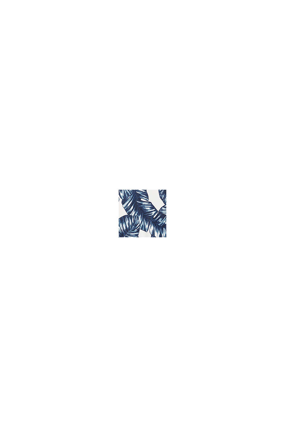 Midi briefs with a leaf print, NAVY, swatch