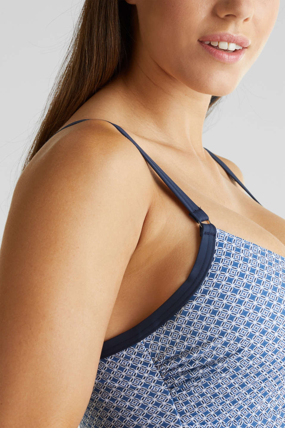 Long top with a shaping function, NAVY 2, detail image number 2