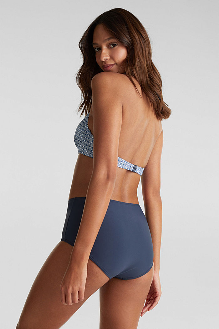 High-waisted briefs with a shaping effect, NAVY, detail image number 2