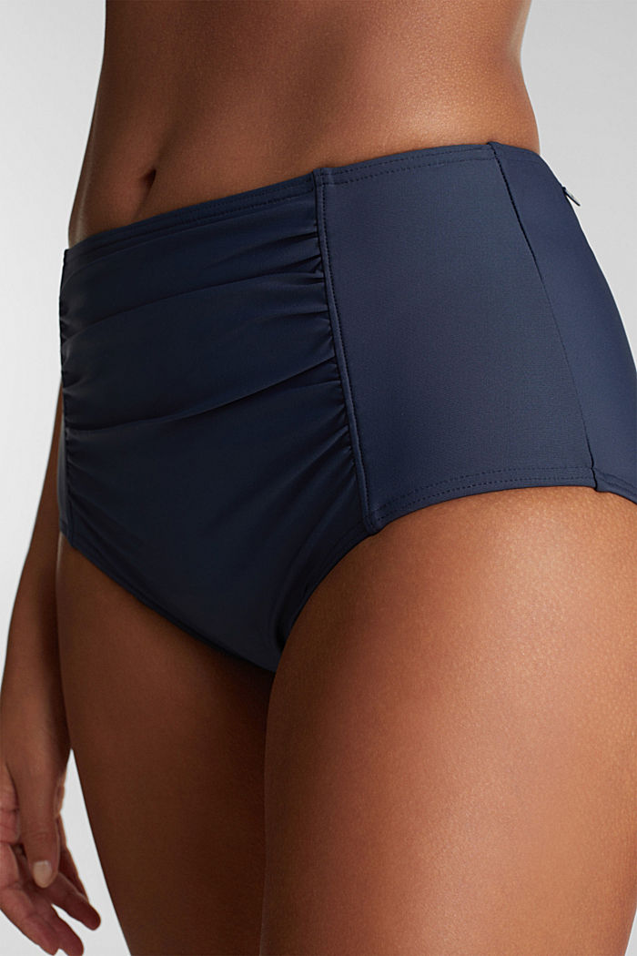 High-waisted briefs with a shaping effect, NAVY, detail image number 1