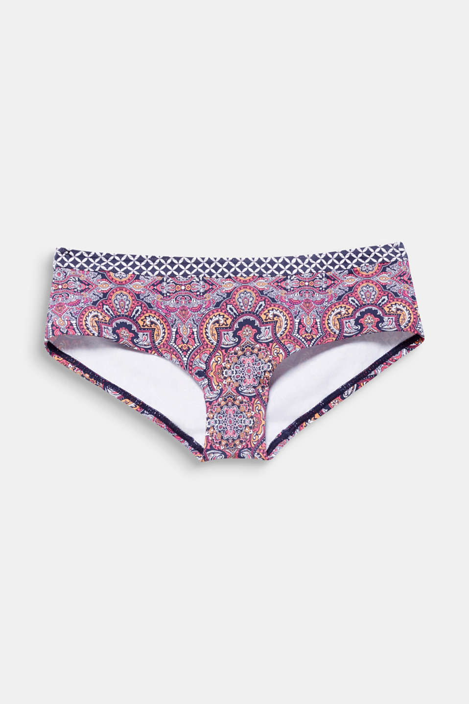 Hipster shorts in a mixed pattern, NAVY 2, detail image number 4