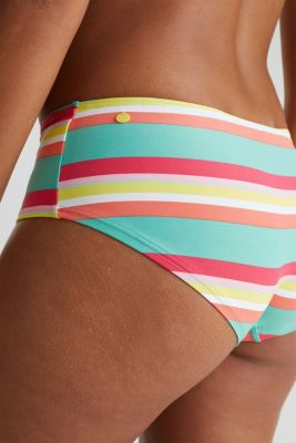 Hipster shorts with stripes, DUSTY GREEN, detail