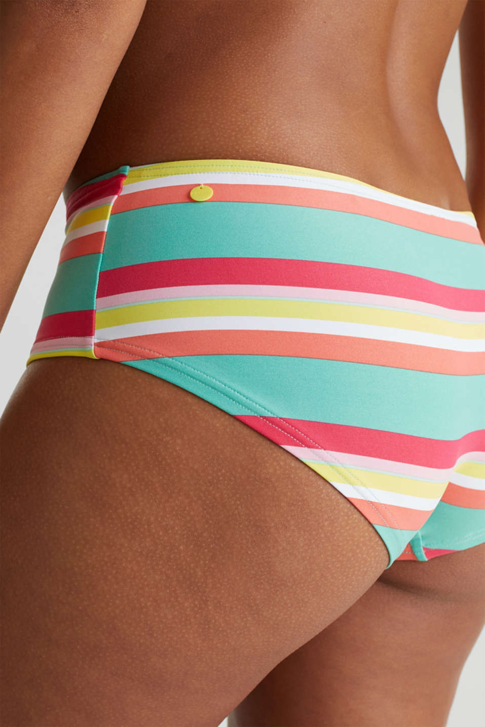 Hipster shorts with stripes, DUSTY GREEN, detail image number 3