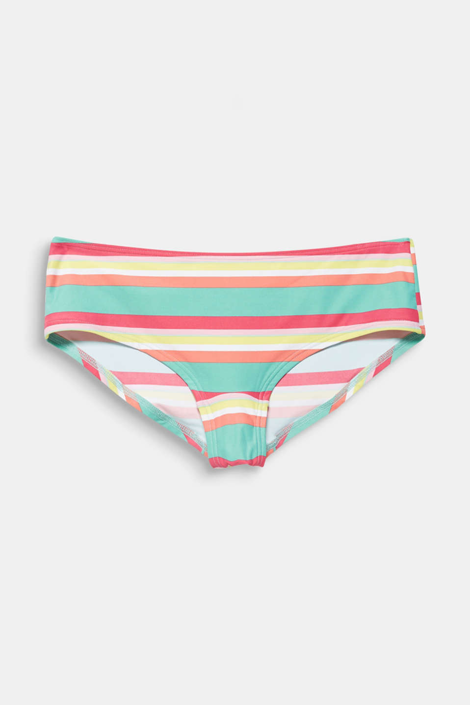 Hipster shorts with stripes, DUSTY GREEN, detail image number 4