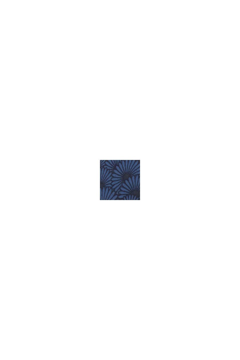 Wattierter Bügel-BH mit Muschel-Print, NAVY, swatch