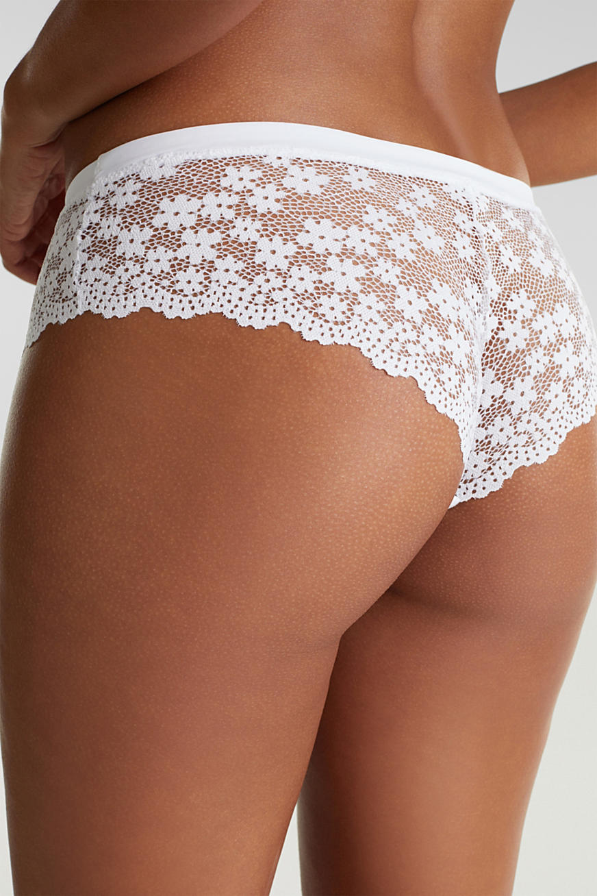 Hipster briefs in lace
