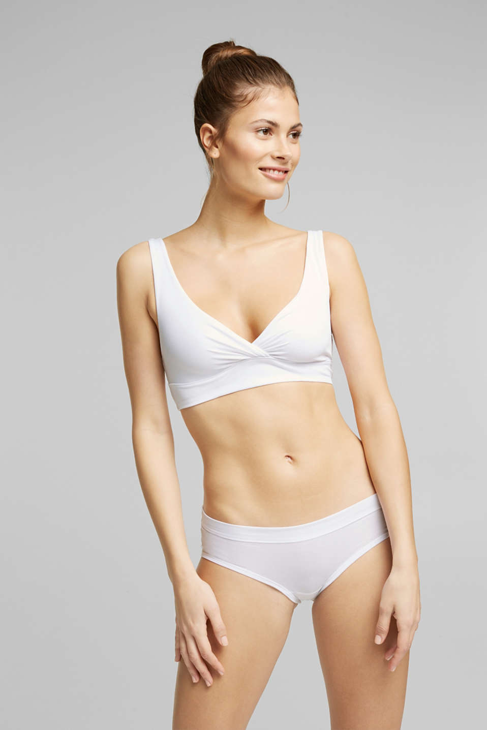 Esprit - Bustier non imbottito in jersey