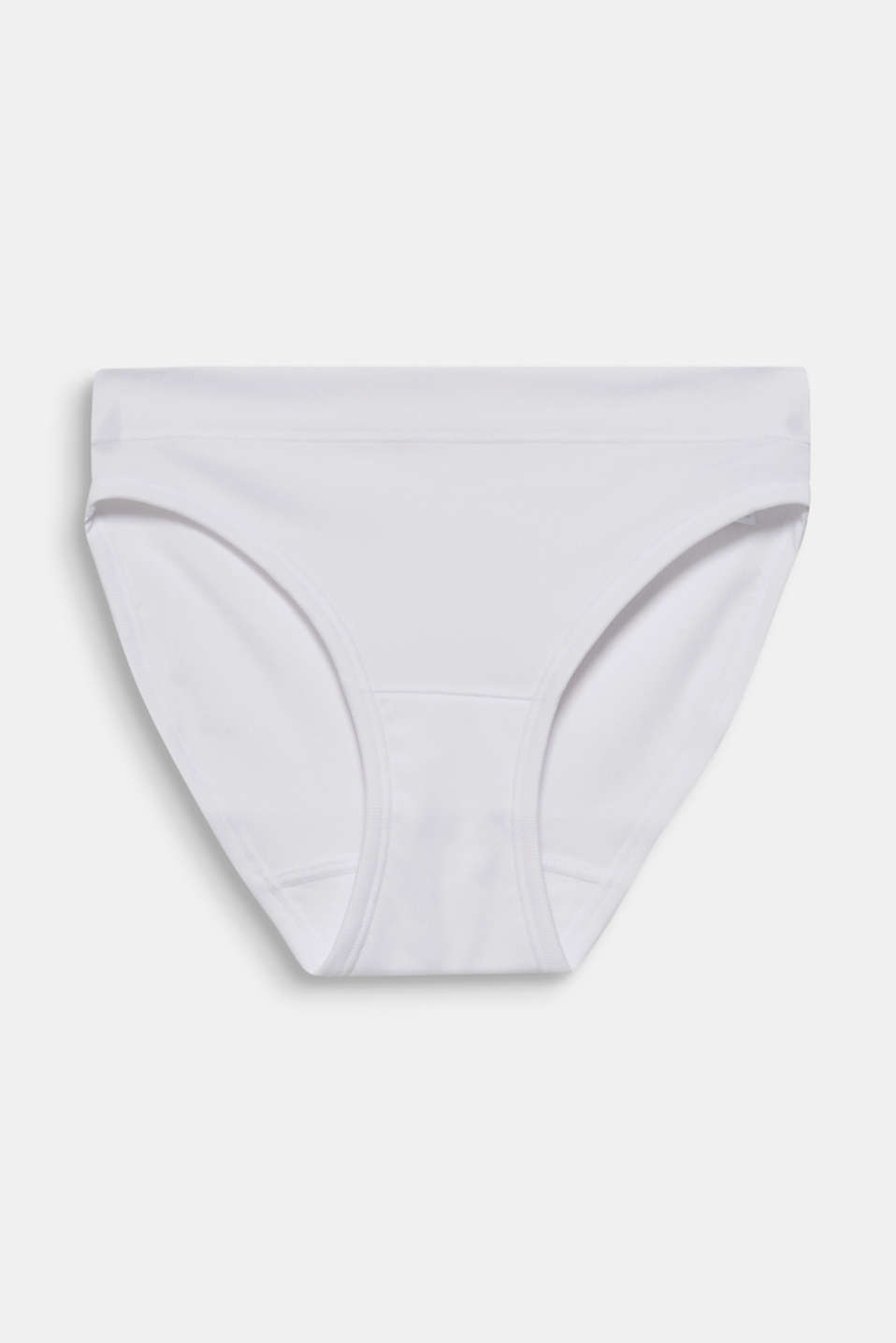 Briefs made of ribbed jersey, WHITE, detail image number 5