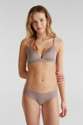 Briefs made of ribbed jersey, TAUPE, detail