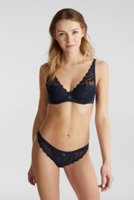 Hipster briefs in lace, NAVY 2, detail