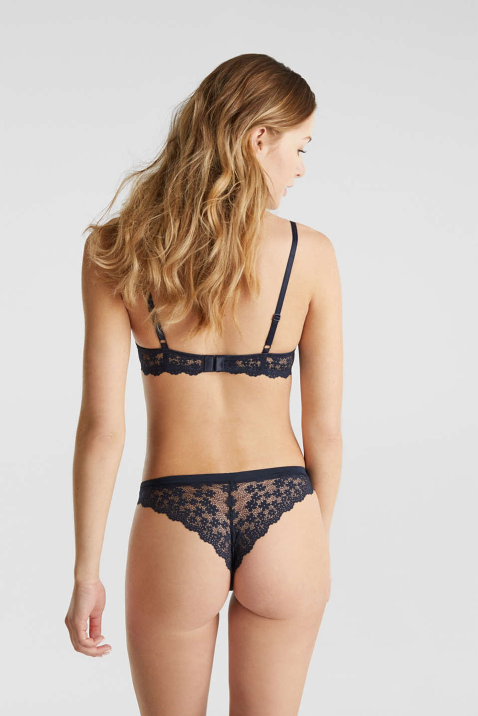 Hipster briefs in lace, NAVY 2, detail image number 2