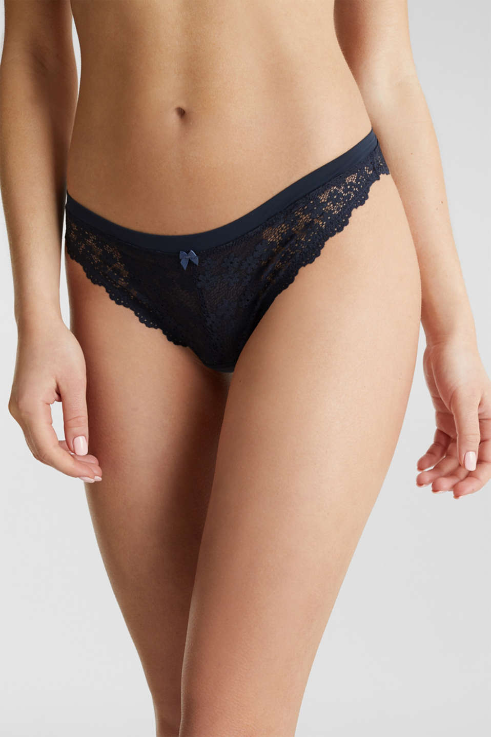 Hipster briefs in lace, NAVY 2, detail image number 1