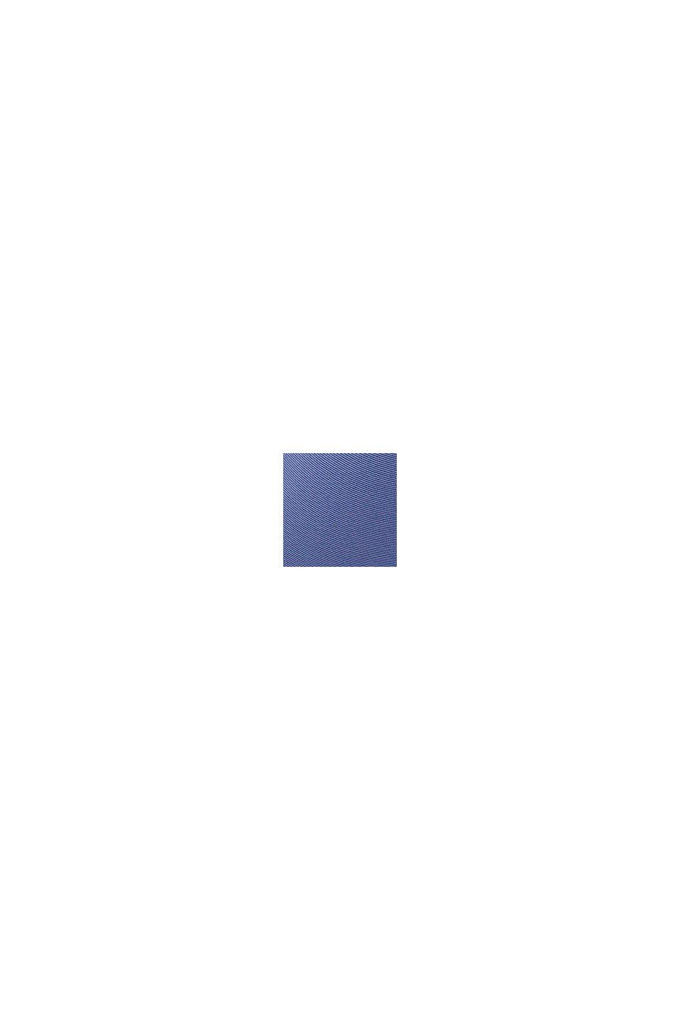 BH med halvskåle, af mesh og blonder, BLUE LAVENDER, swatch
