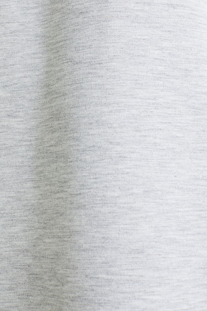 Jersey-Stretch-Dress mit Paspeln, MEDIUM GREY, detail image number 4