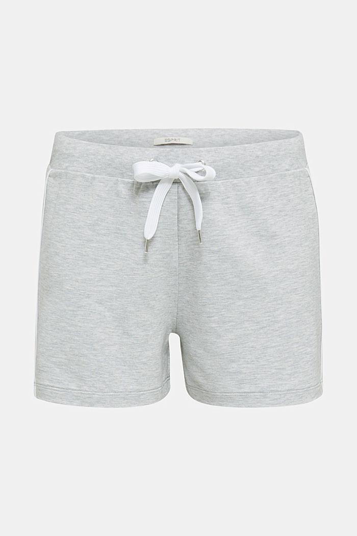 Shorts in jersey melangiato e elasticizzato, MEDIUM GREY, detail image number 6