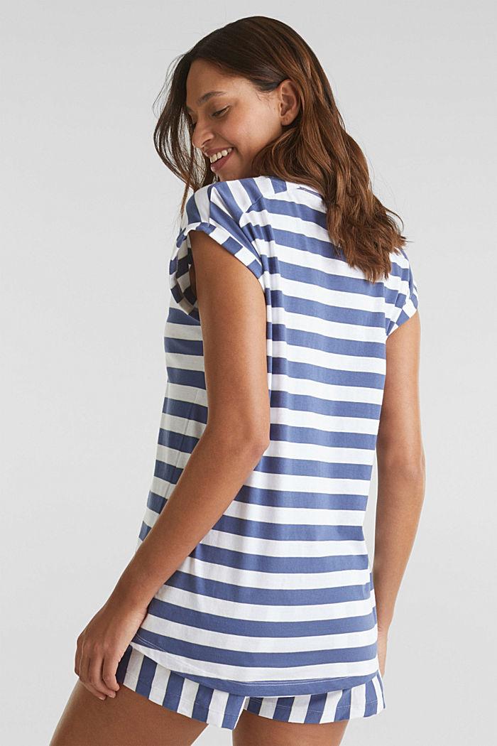 Jersey pyjamas in 100% cotton, WHITE, detail image number 2