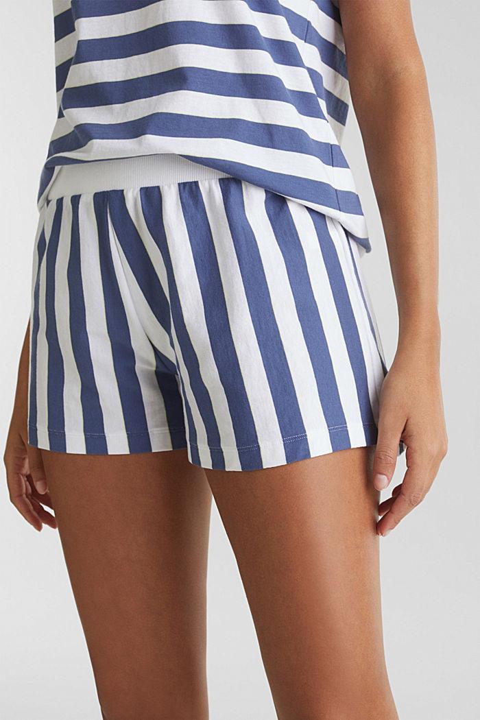 Jersey pyjamas in 100% cotton, WHITE, detail image number 3