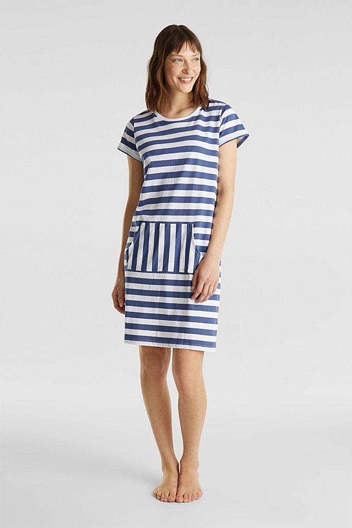 Jersey nightshirt, 100% cotton
