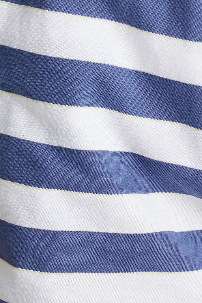 Jerseyshorts i 100 % bomuld, WHITE, detail image number 3