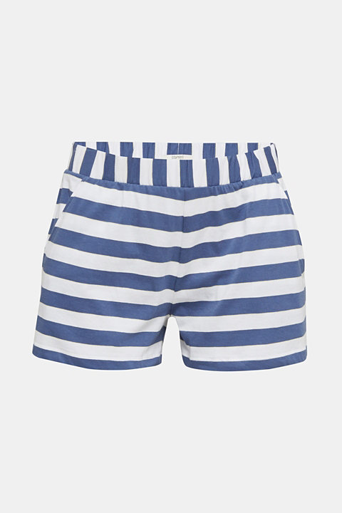 Jersey shorts in 100% cotton