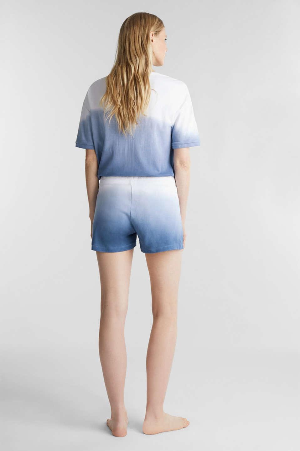Jersey shorts, 100% cotton, BLUE LAVENDER, detail image number 3