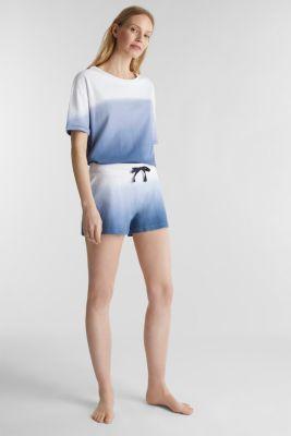 Jersey shorts, 100% cotton, BLUE LAVENDER, detail