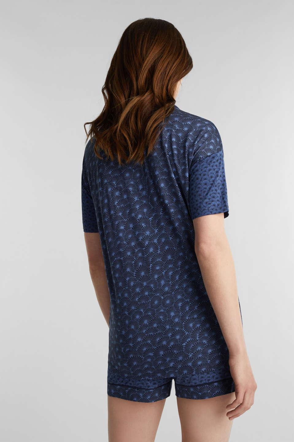 Pyjamas made of stretch jersey, BLUE LAVENDER, detail image number 2