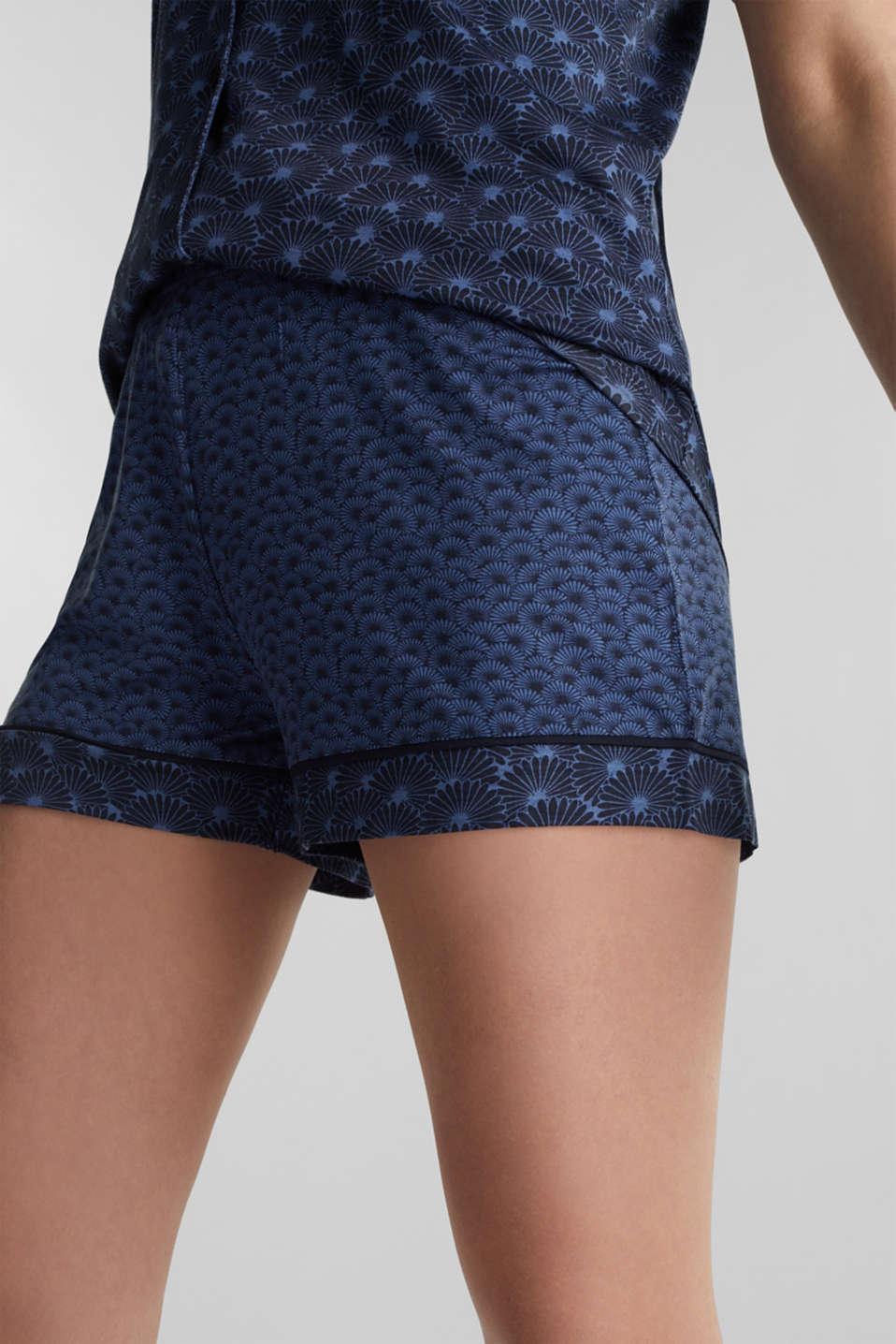 Pyjamas made of stretch jersey, BLUE LAVENDER, detail image number 5
