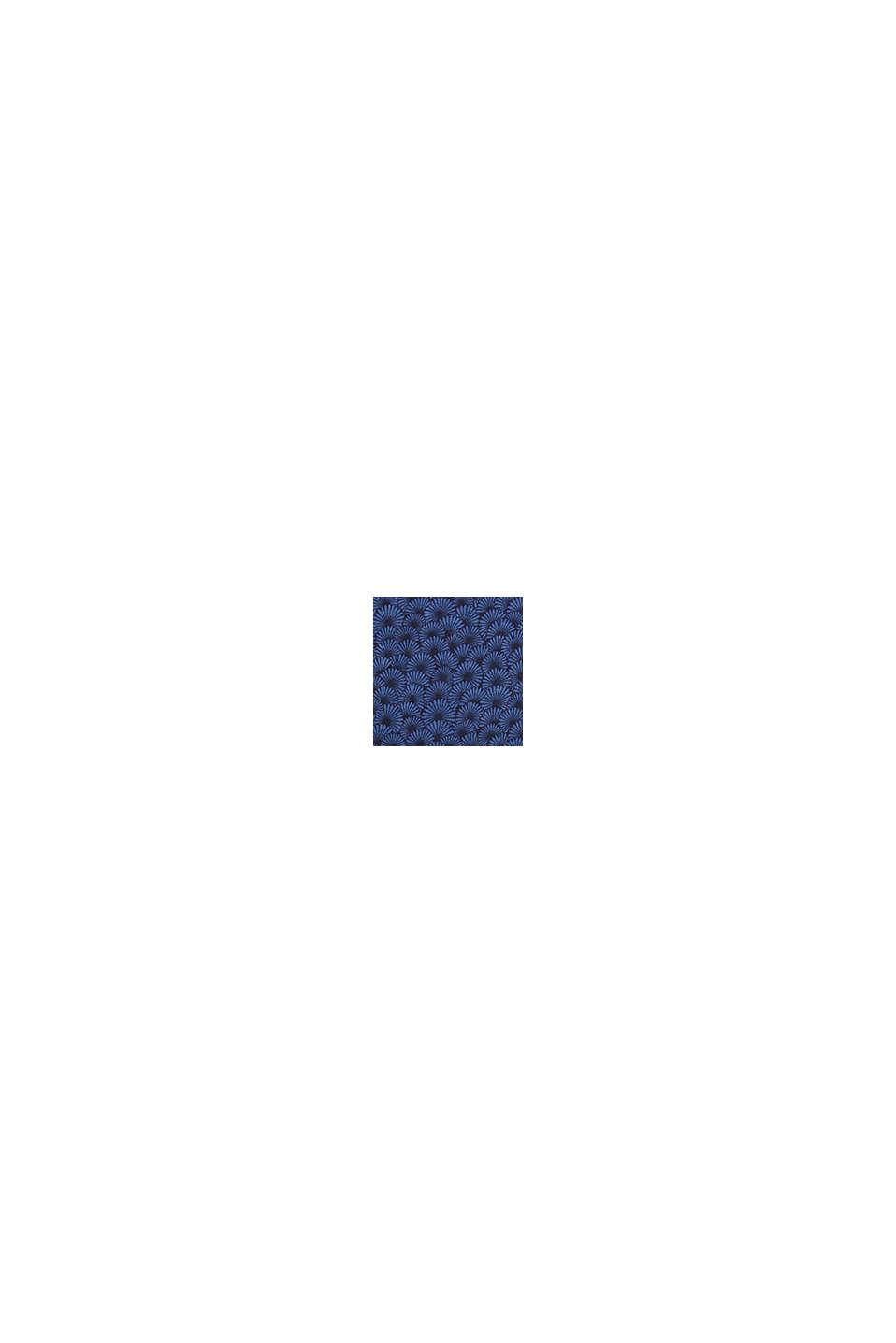 Kuvioitu yöpaita stretchjerseytä, BLUE LAVENDER, swatch