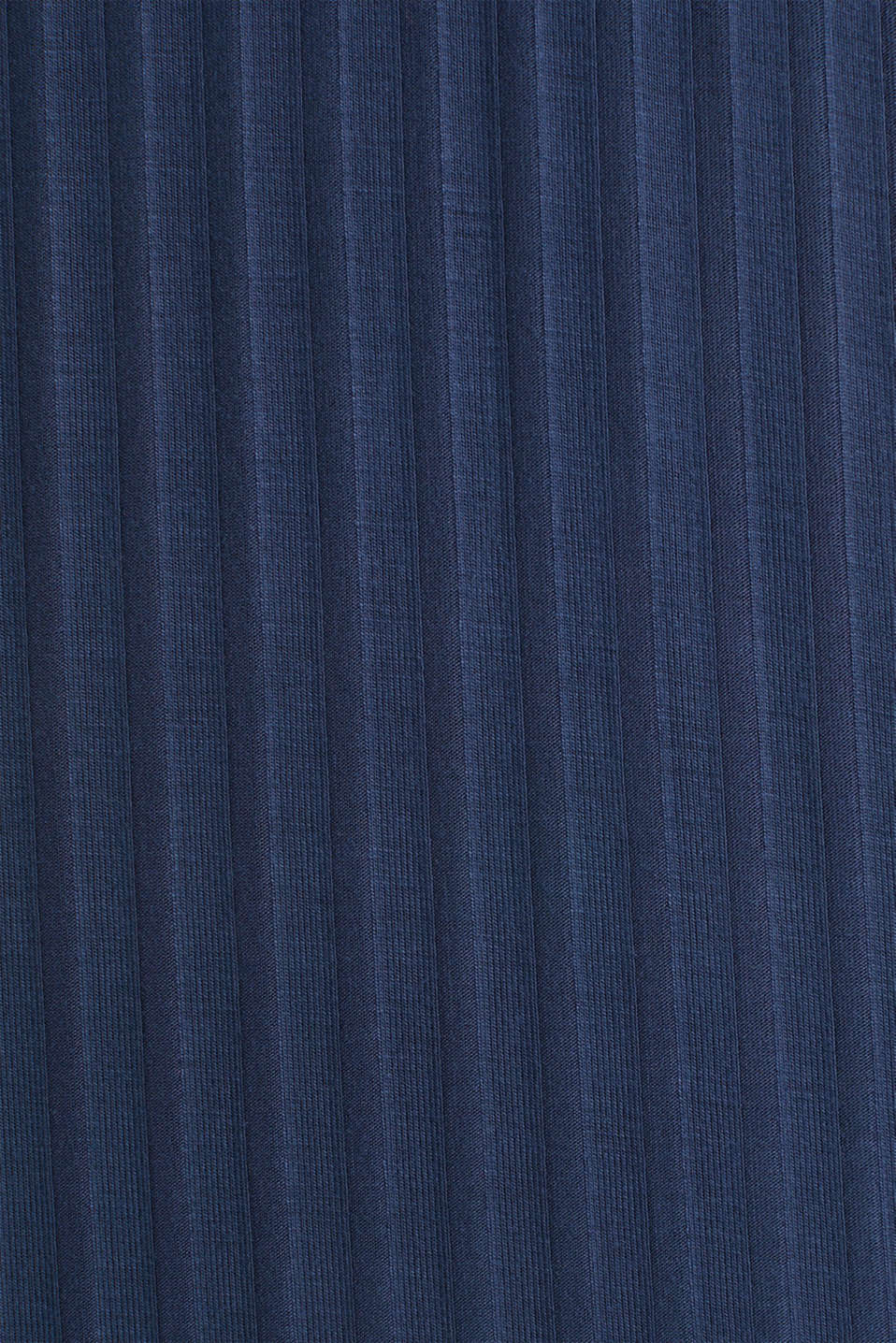 Jersey nightshirt with a ribbed texture, NAVY 2, detail image number 4