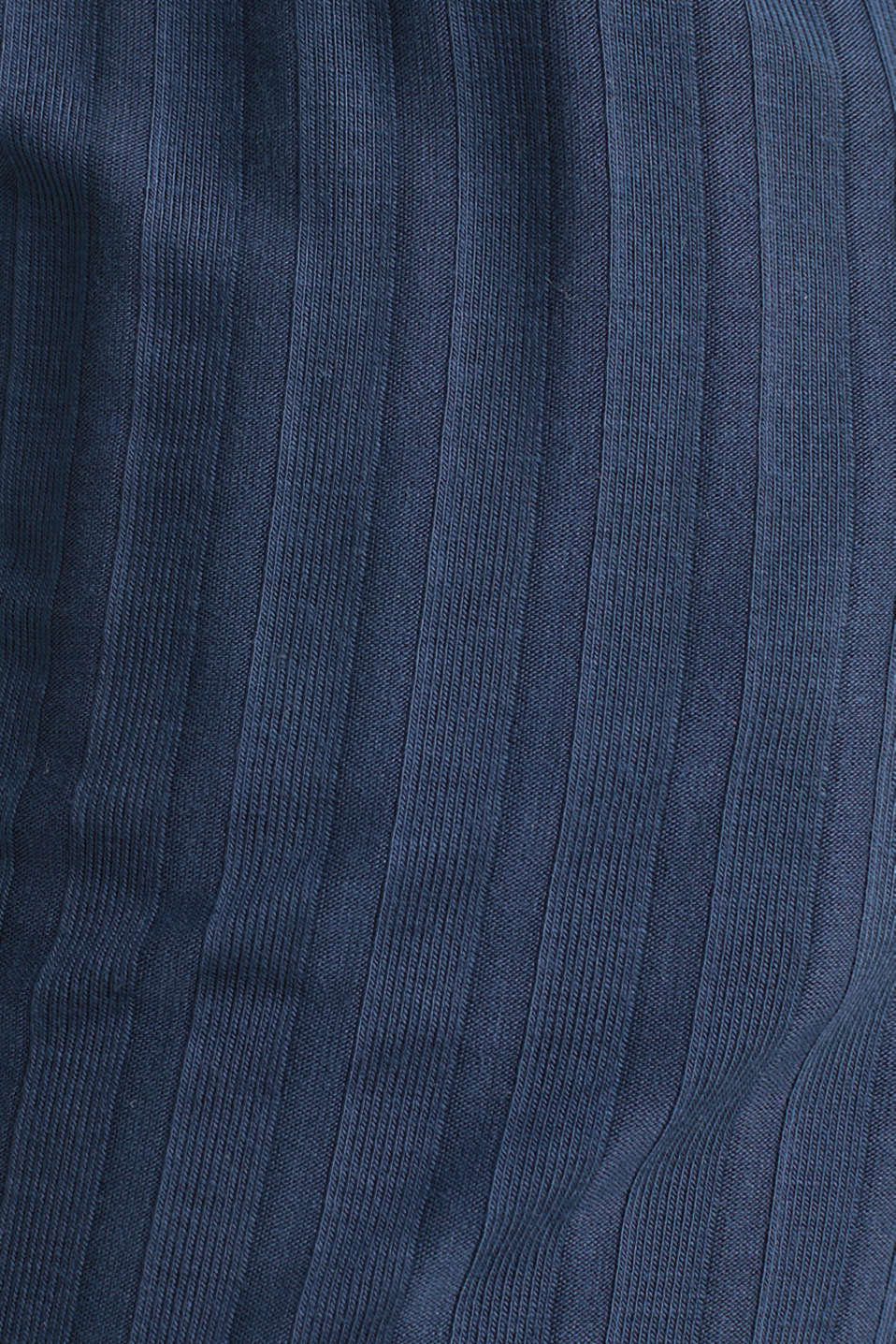 Stretch jersey trousers with a ribbed texture, NAVY 2, detail image number 3
