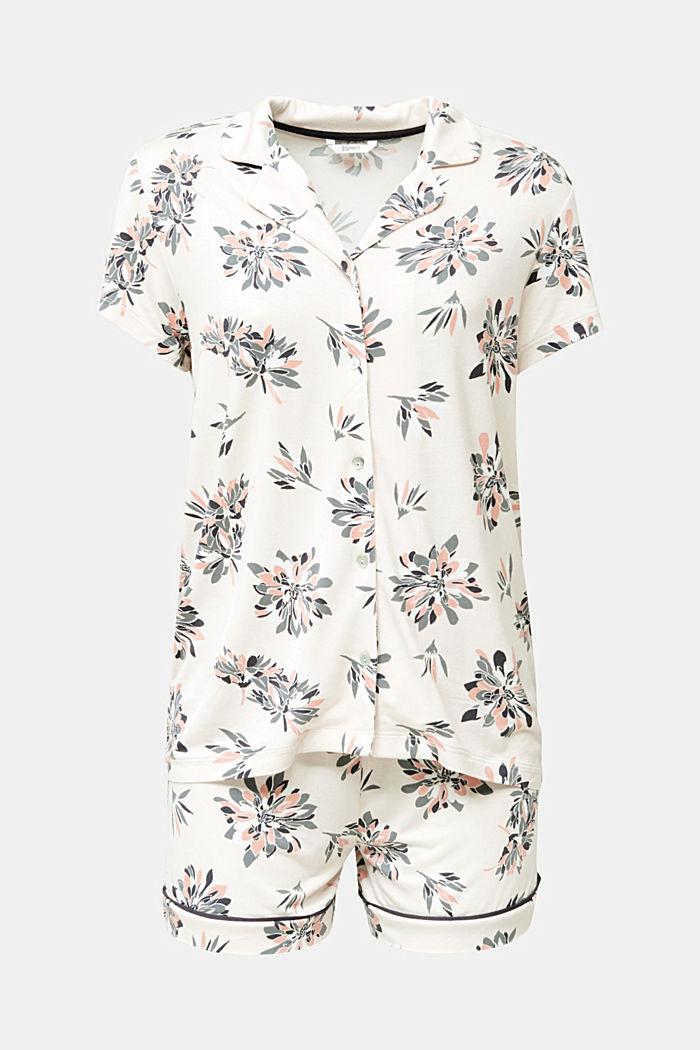Pyjamas i stretchjersey med tryck, ICE, detail image number 5