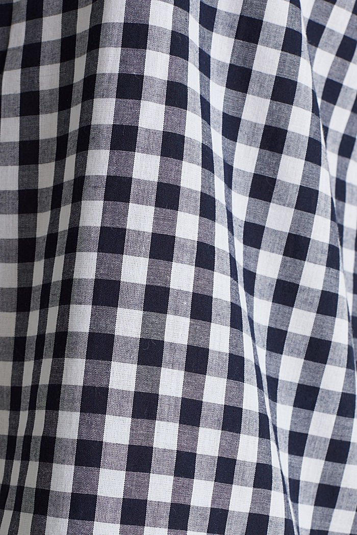 Woven nightshirt, 100% cotton, NAVY, detail image number 3