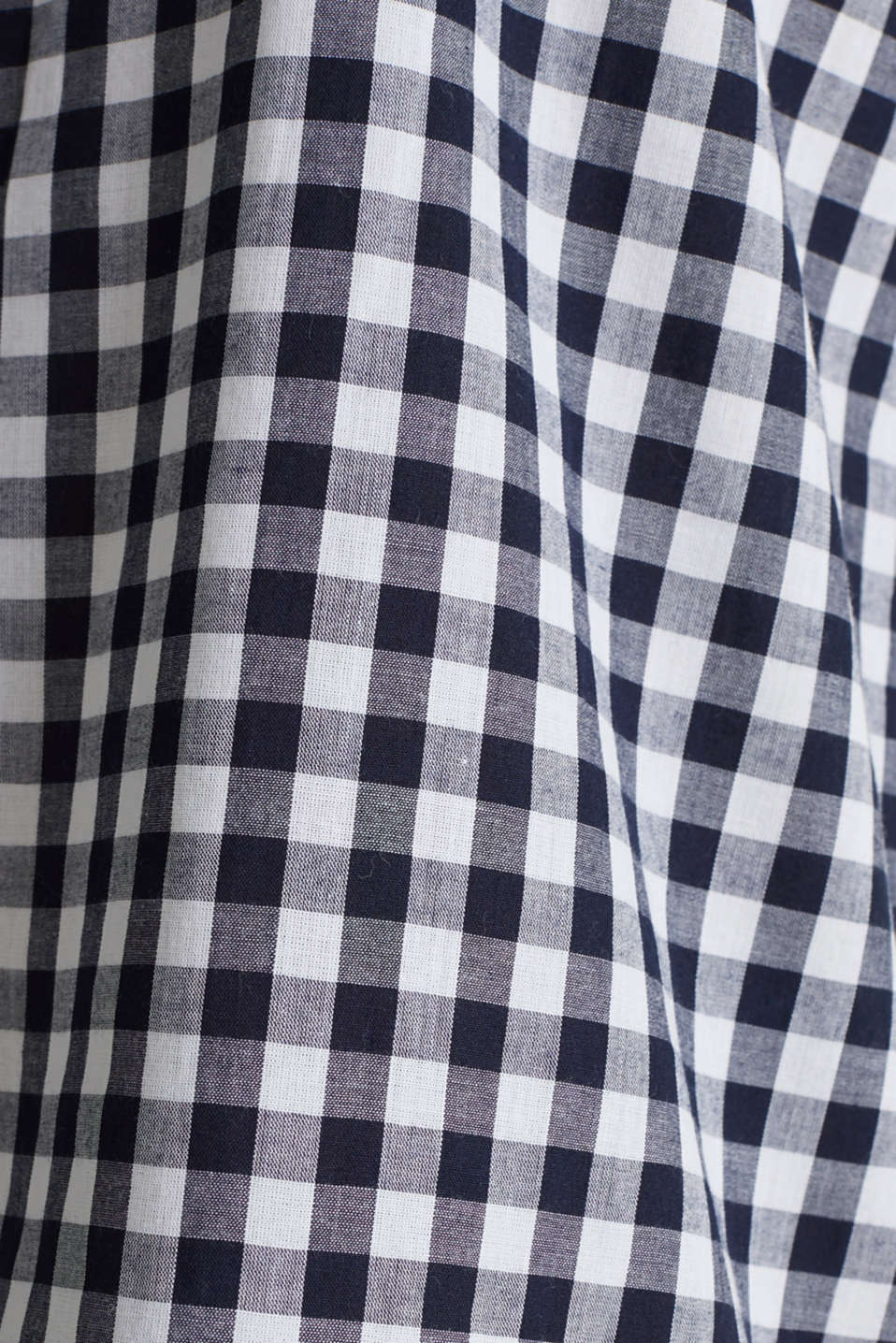 Woven nightshirt, 100% cotton, NAVY 2, detail image number 3