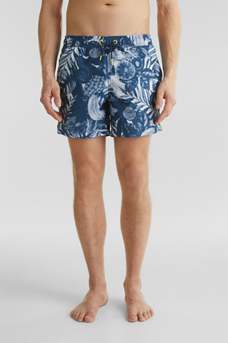 Fruit print swim shorts