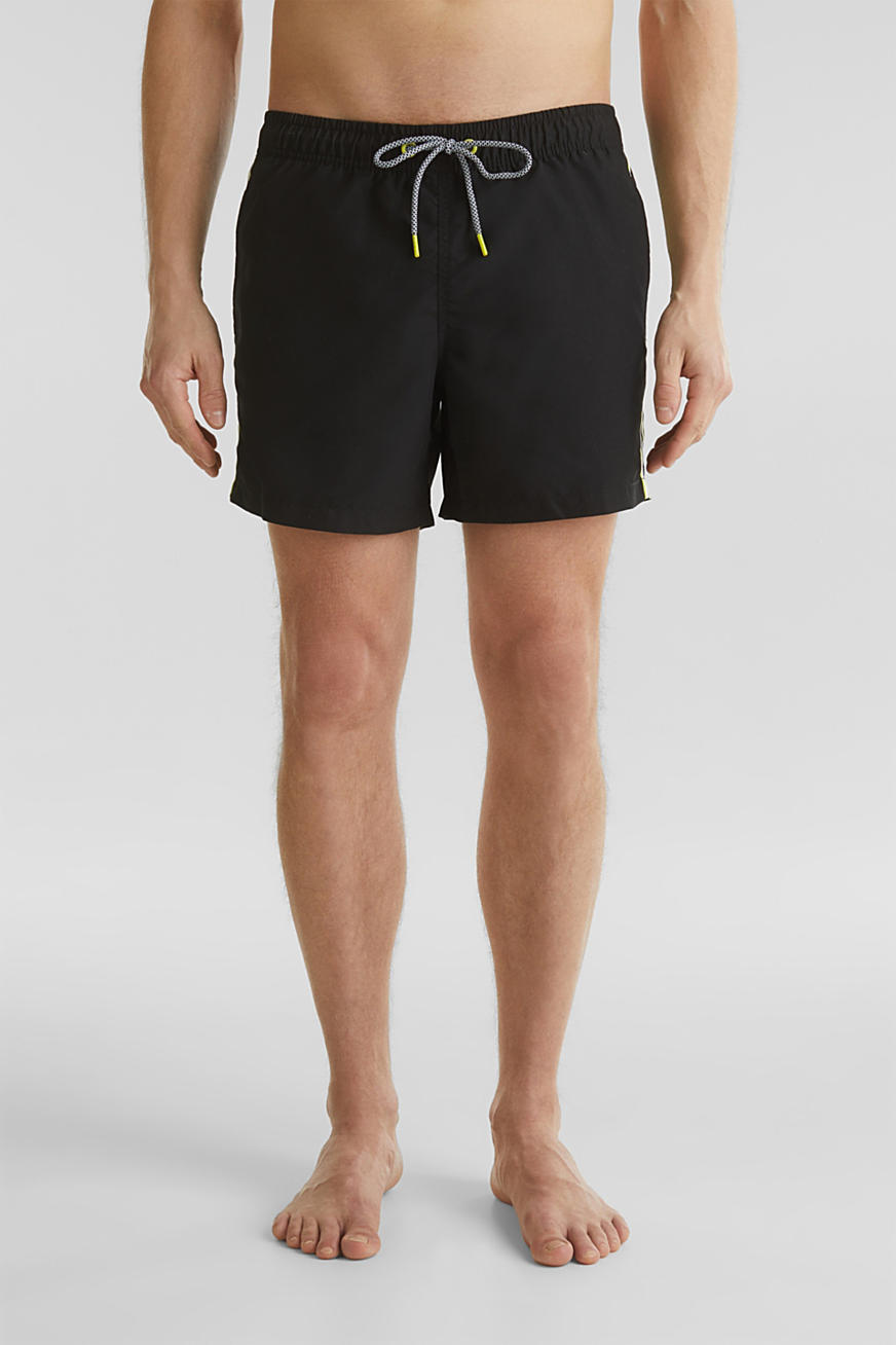Short de bain à rayures racing