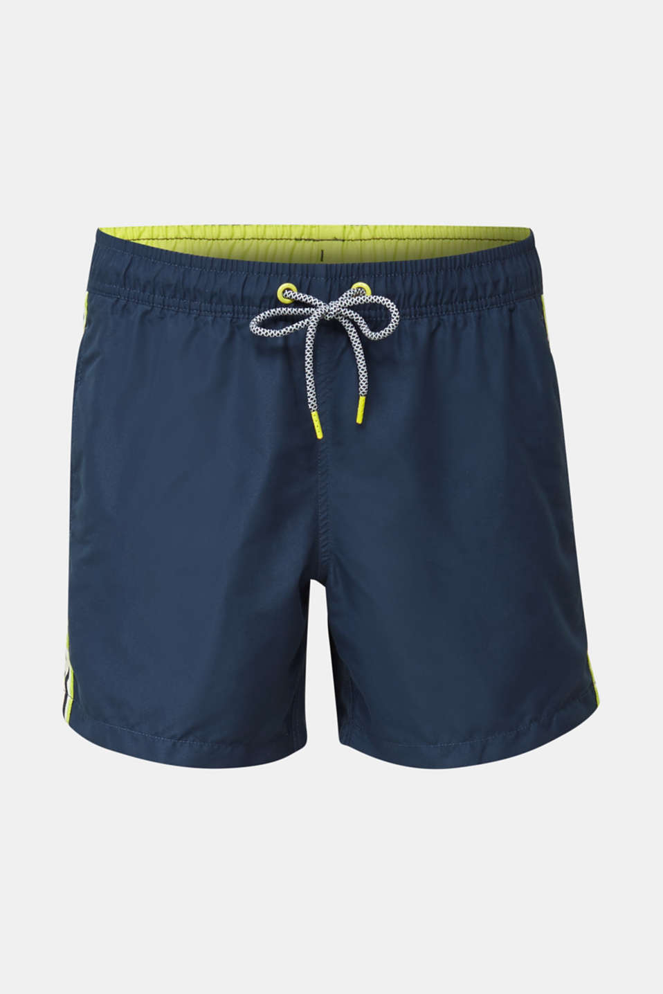Swim shorts with racing stripes, NAVY 2, detail image number 3
